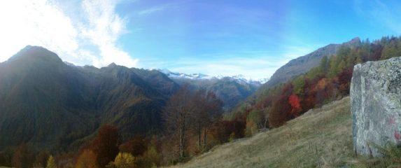 panorama dal Laietto