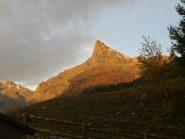 Monte Avic alla partenza