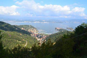 vista sul golfo di La Spezia