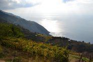 panorama sul mare verso Case Lemmen