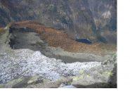 Il lago di Antrona dalla vetta..