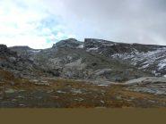 La Rocca Bianca 3064 m dalla cima della via