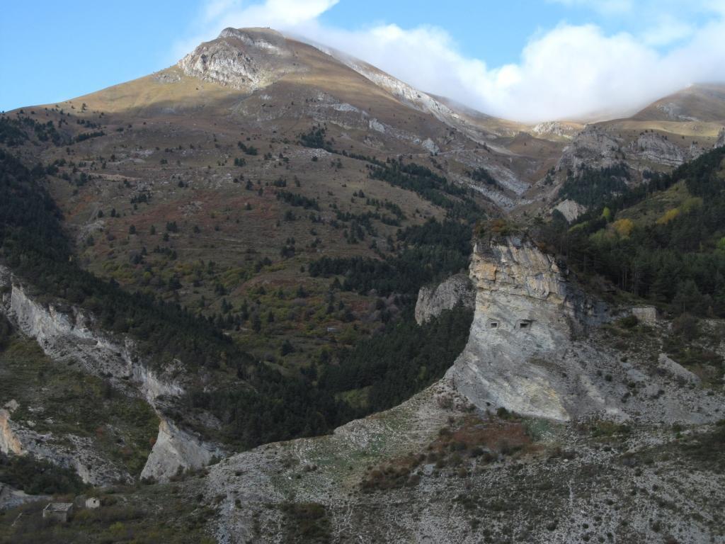 Castel Tournou da Tende, giro per il Colle Boselia 2013-10-31