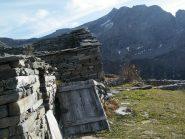 Alpe Belvedere con il Monte Marzo sullo sfondo