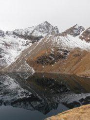 03 - Lac d'en Bas e parete est dell'Emilius