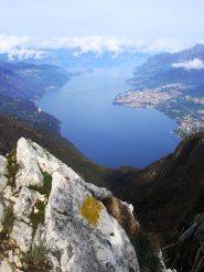 Quel ramo del lago di Como... dalla cresta sud - ovest