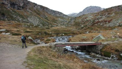 arrivando al Pont de la Seteria (1-11-2013)