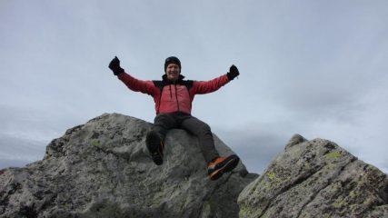libero il mio entusiasmo in cima!! (1-11-2013)