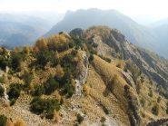 la cresta dalla Rocca del Praet