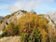 la cresta del Fera' da Cima Caplet