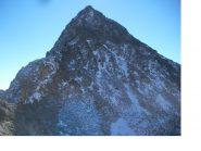 La slanciata piramide del M.Chamineyes..dal passo omonimo..