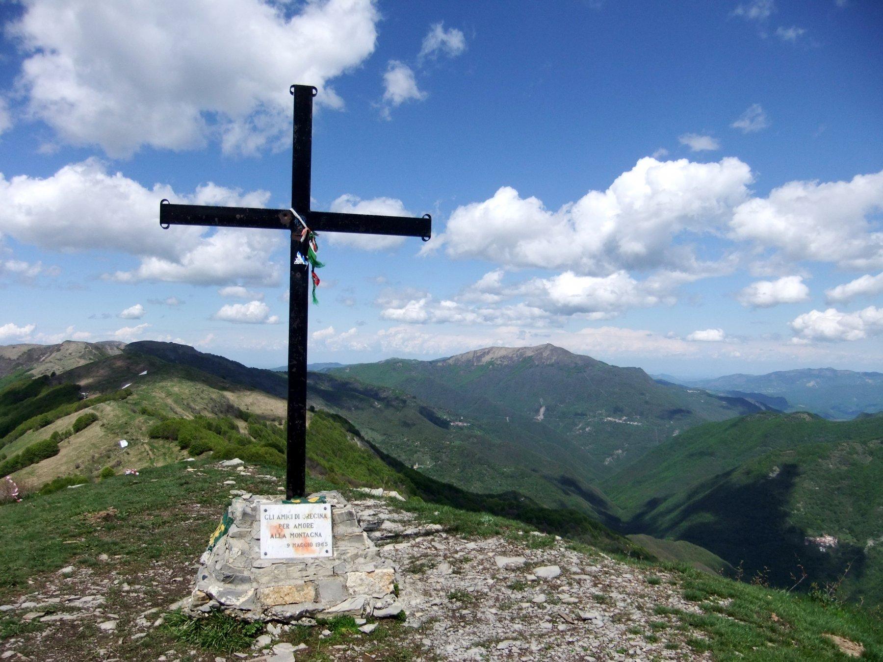 Dalla cima del Monte Carmo