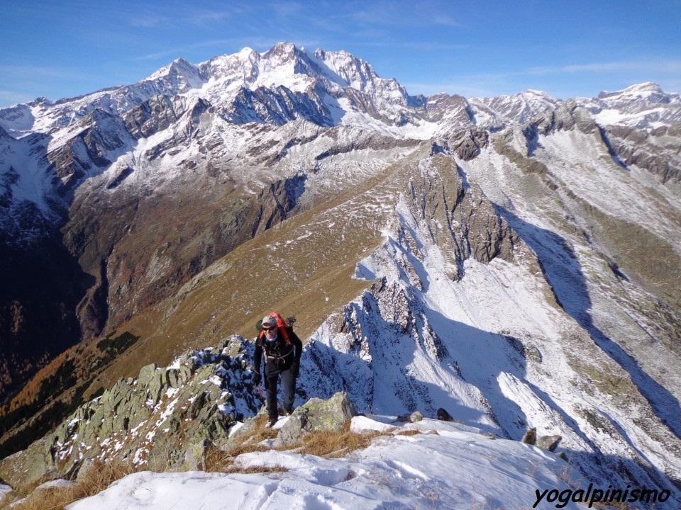 Lampone (Cima) Cresta Nord per Colle del Termo 2013-11-07