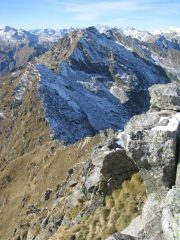 Cresta ovest verso Moriondo, Andelmel,Vailet, Debat,..