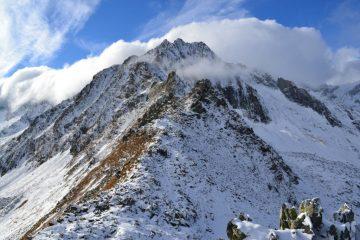il Pizzo d'Andolla visto dalla quota 2485 m