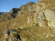Dalla Balma Piatta, la cresta via di arrampicata al Corno Battaglia