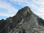 La cresta percorsa per scendere al Colle della Forca