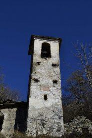 Primo piano del campanile