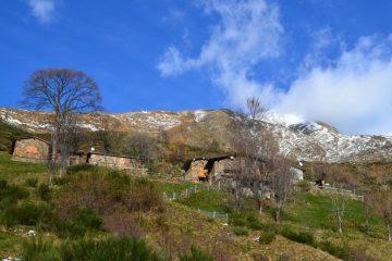 ritorno a Zartigna con la neve ormai sciolta