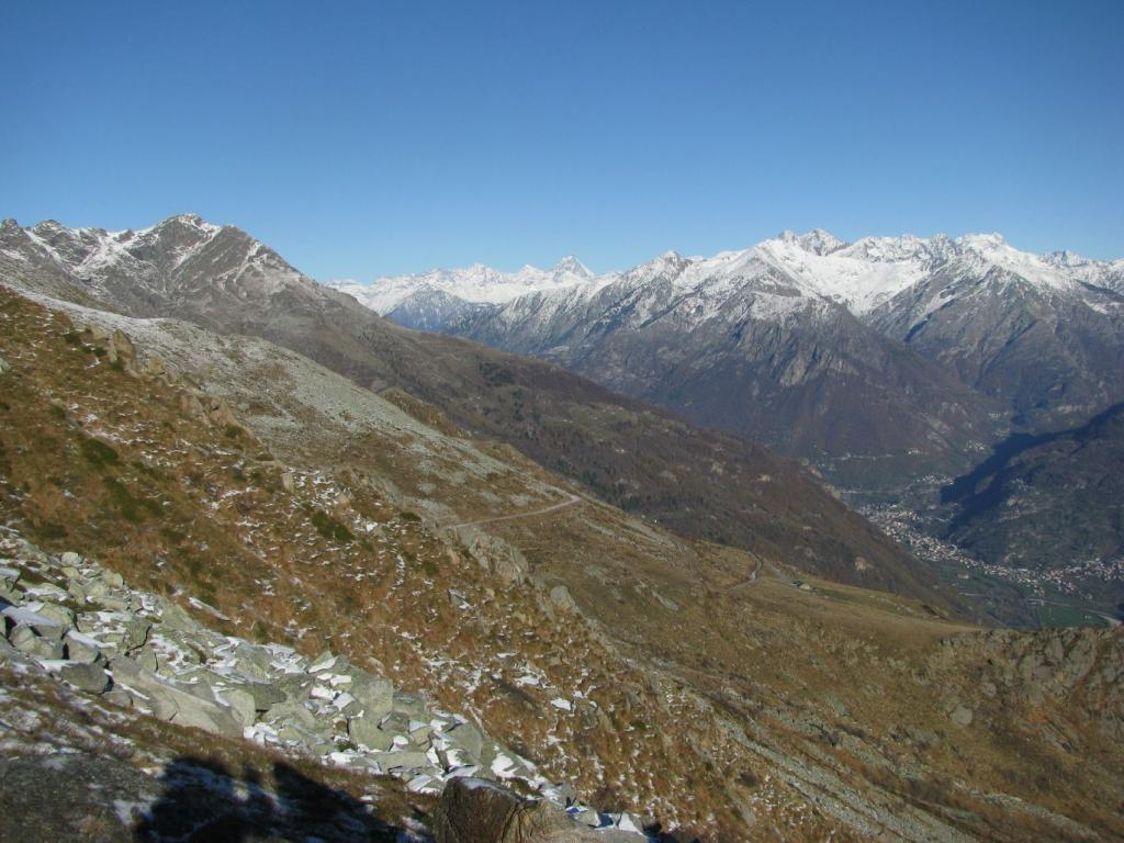 Panorama, salendo al Gregorio