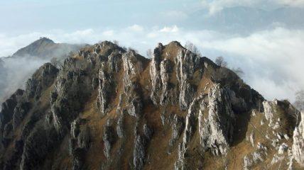 Cima del Fo' e parte finale della Cresta della Giumenta