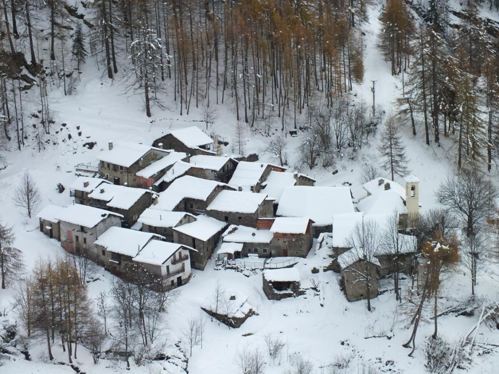 Puy e Pequerel (Borgate) da Fenestrelle, anello 2013-11-24