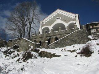 Oggi a S. Anna con la neve
