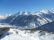Panorama sulla valle...gran bella giornata!