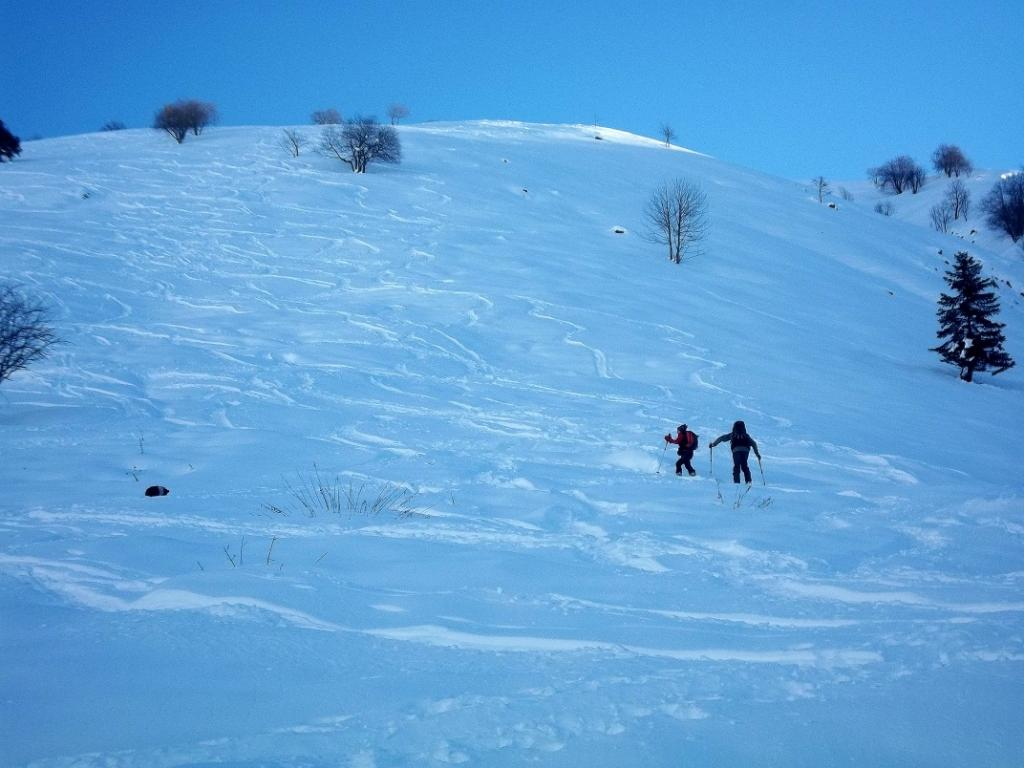 Gardun (Cima) quota 2260 m da San Giacomo 2013-11-27