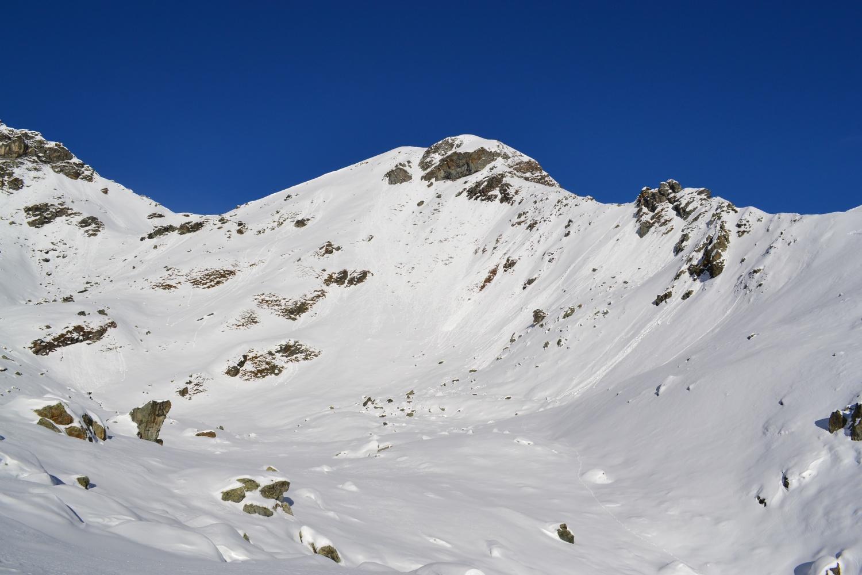 il Monte Croce visto dalla quota 2610 m