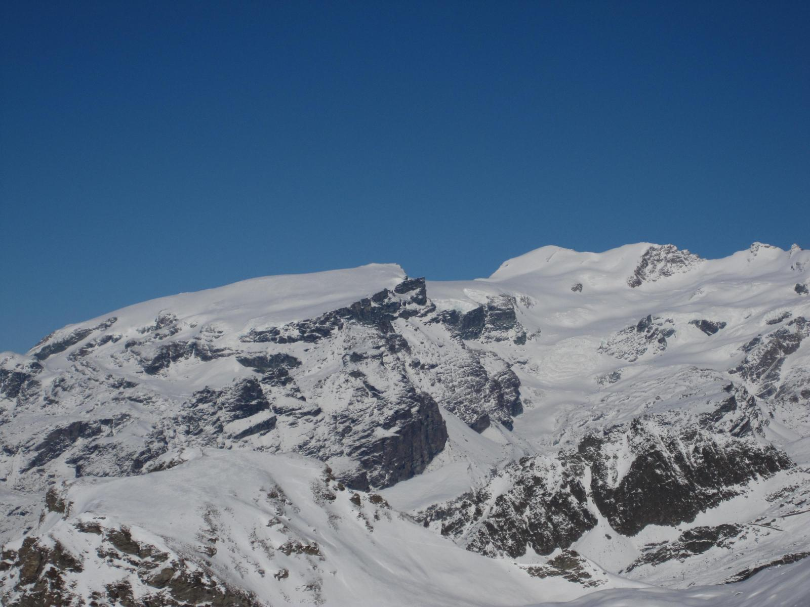dalla cima Gobba di Rollin e Breithorn