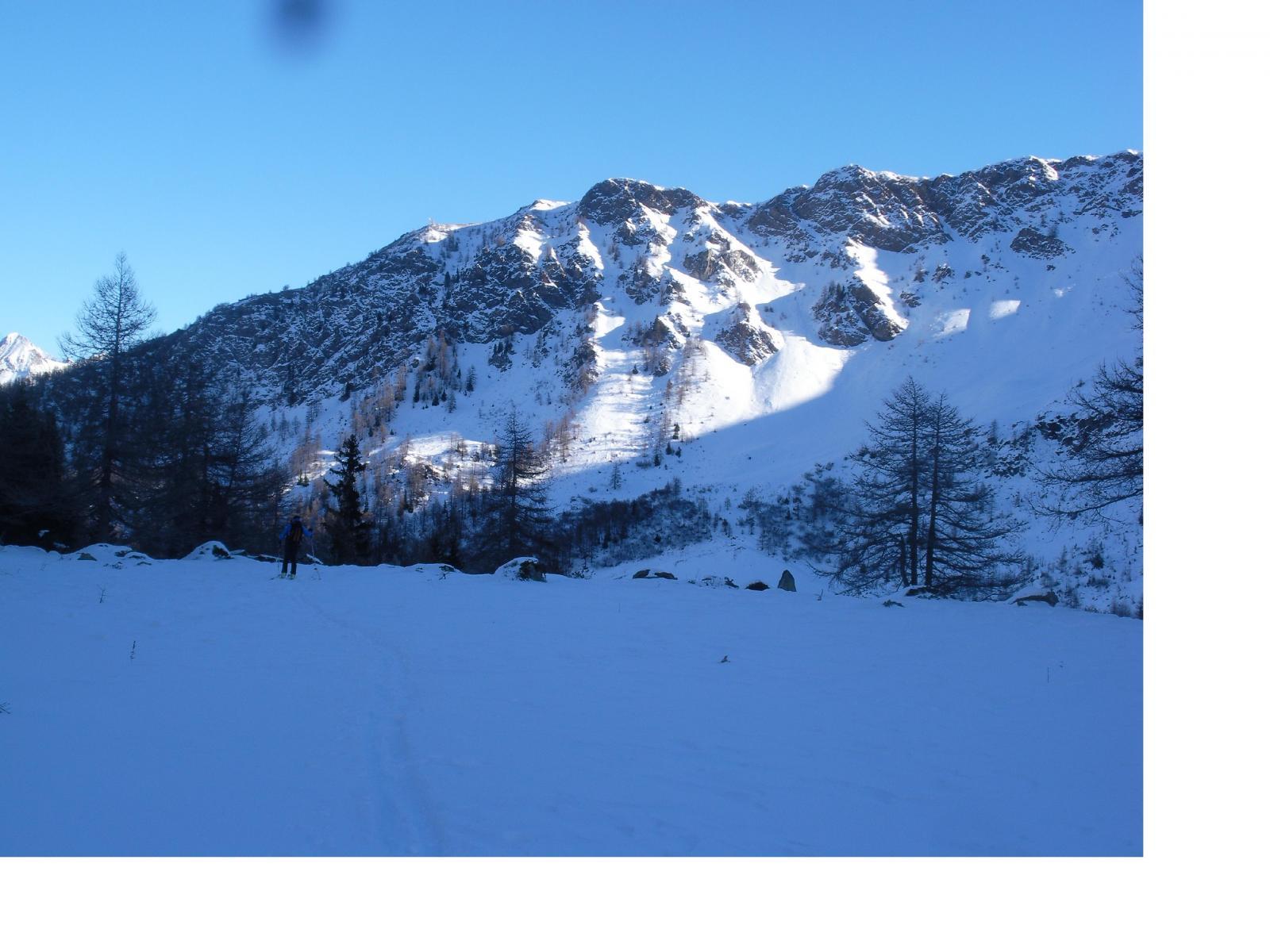 La cresta Tardiva..dal vallone d'Arsy al pomeriggio..