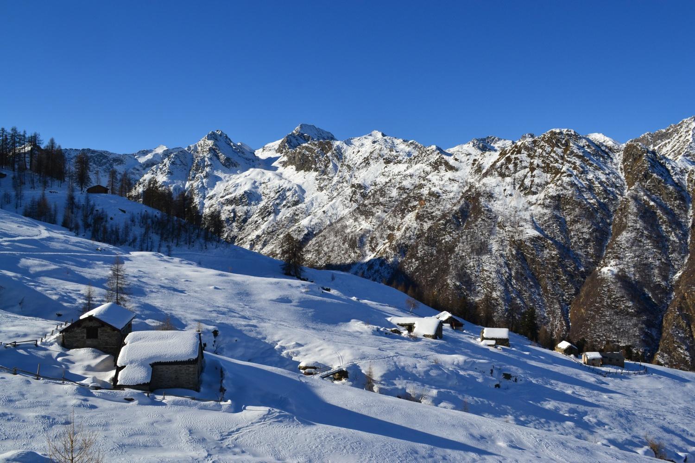 arrivo all'Alpe Sorbella (1636 m)