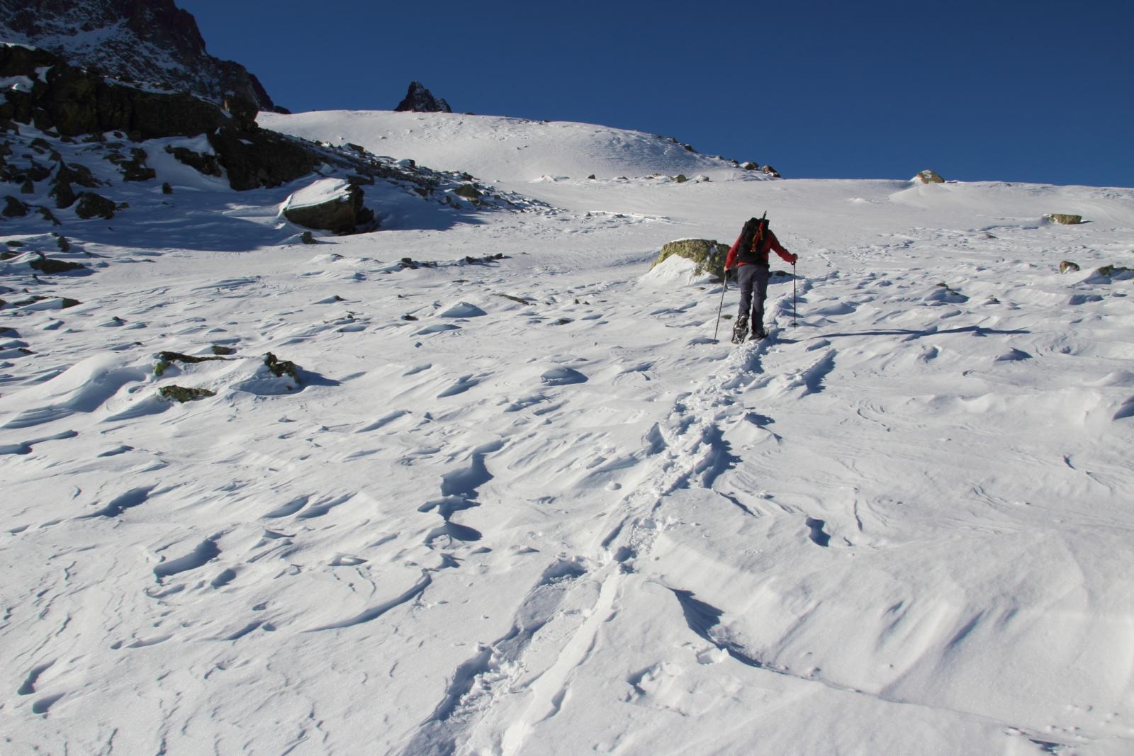 Maurizio a pochi minuti dalla cima (7-12-2013)