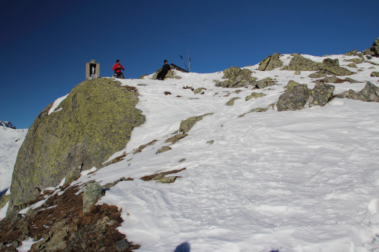 la vetta del Monte Granè è molto vicina (7-12-2013)