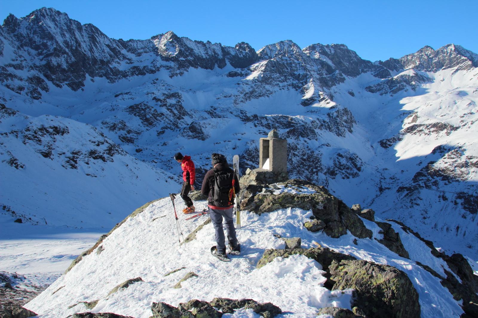 in vetta al Monte Granè (7-12-2013)