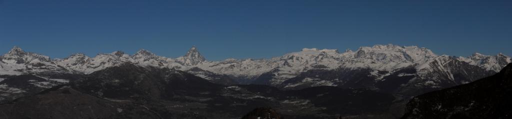 01 - Panoramica Prapremier Monte Rosa e Cervino
