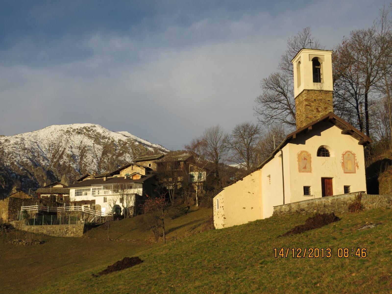 Arrivo a San Domenico al Colletto