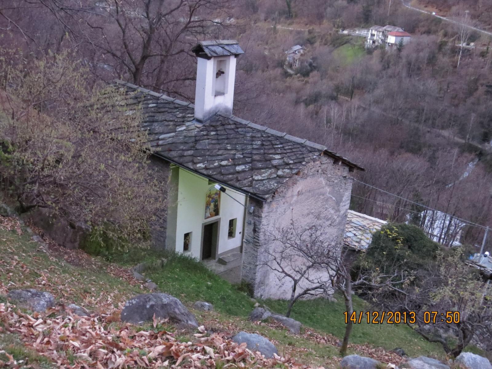 Chiesa di Raje, alla partenza