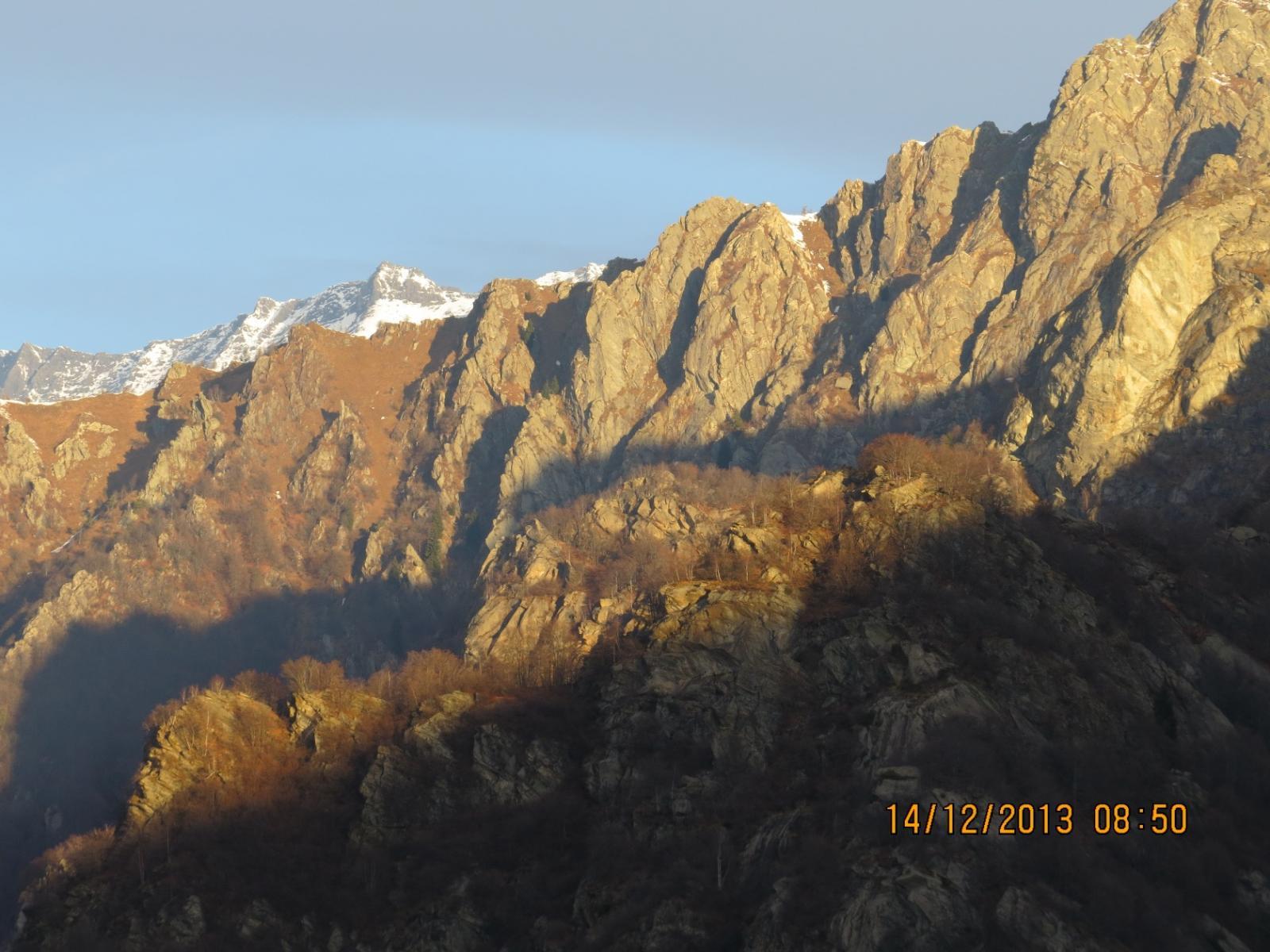 Primo sole al Monte Betassa
