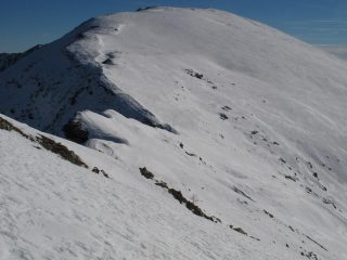 Il Briccas dalla cresta di salita