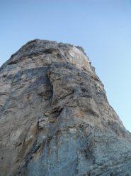 il pilastro visto dalla base