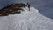 Ultimi metri senza sci