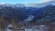 La piana dall'Alpe Biollit 1285m
