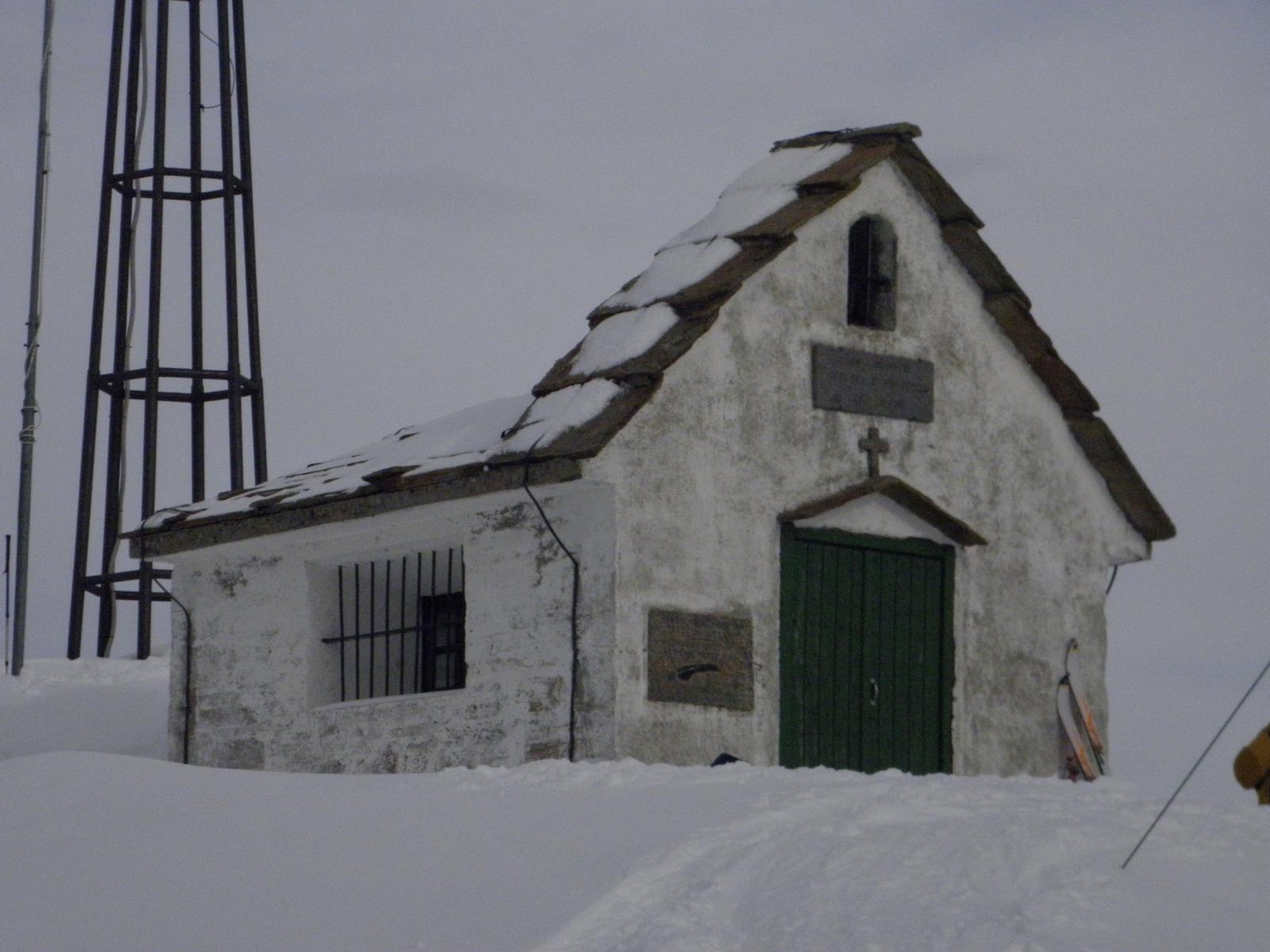 La cappella degli alpini in punta