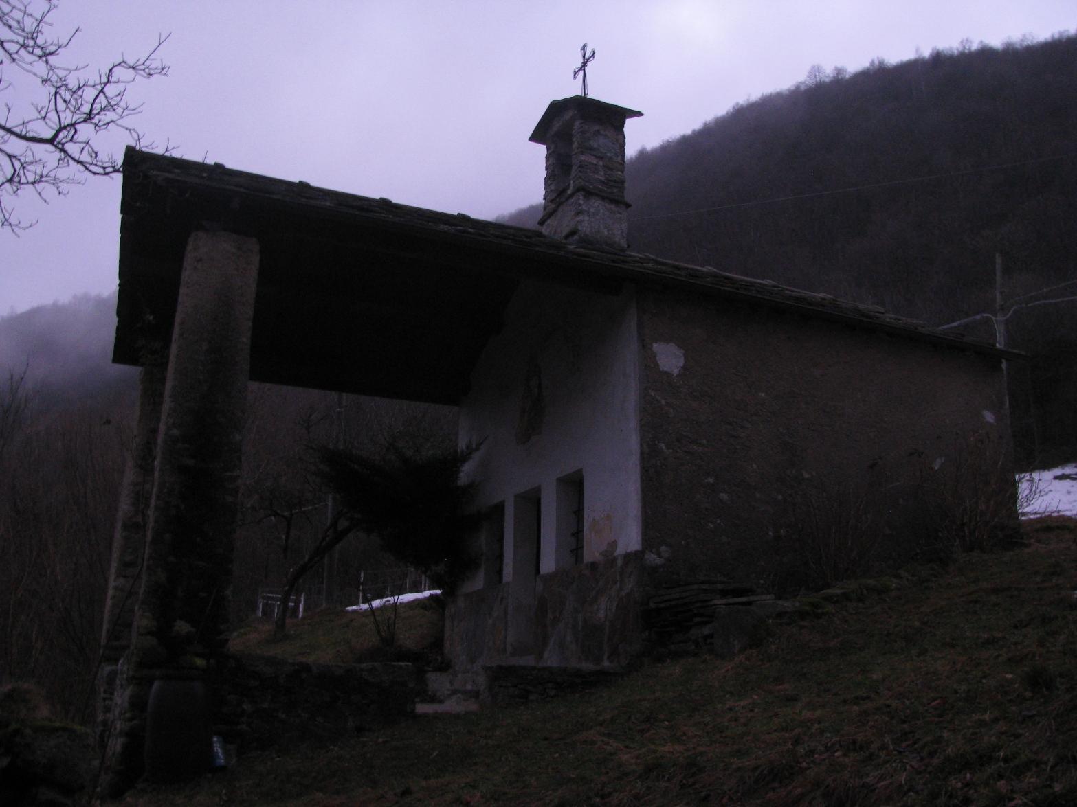 Chiesa del Frailino appena dopo la partenza