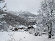 Un villaggio immerso nella panna montata...
