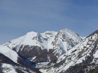 Monte nebius dal Forte Neghino