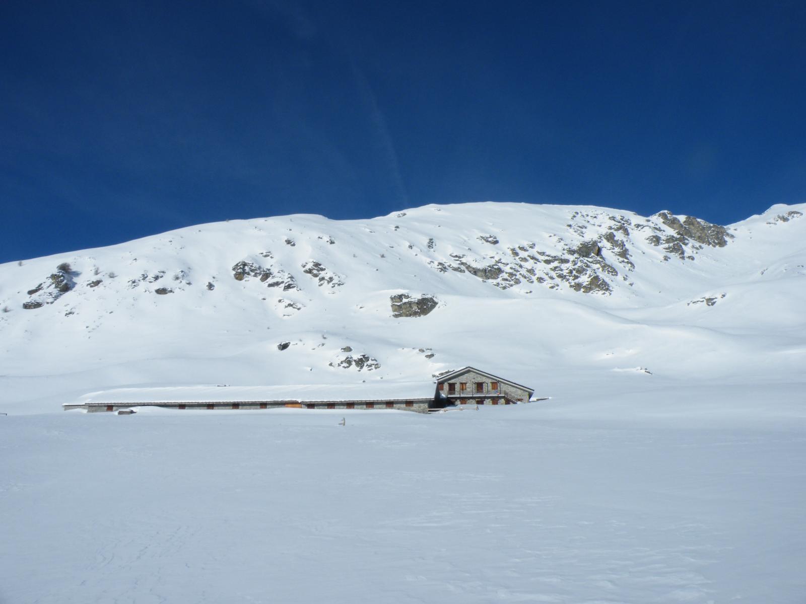 l'alpeggio ancora immacolato