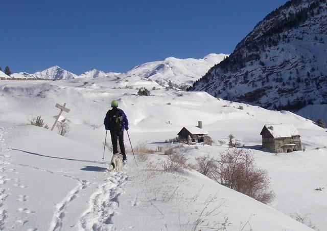 bivio Les Aittes, vista Cima Dorlier e Dormillouse zona Col Chabaud